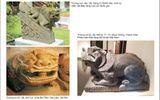 """Sự kiện hàng ngày - Đưa """"hiện vật lạ"""" khỏi di tích:Giới thiệu mẫu linh vật thuần Việt"""