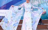 Thời trang & Làm đẹp - Hồng Quế diện áo dài Hoàng Hải nổi bật tại Malta
