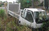 Xe CSGT tông nữ sinh lớp 9 nguy kịch rồi lao xuống ruộng