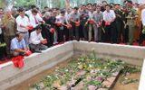 Truy điệu 36 liệt sỹ được tìm thấy tại hố chôn tập thể