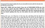 """UBND tỉnh Nghệ An bị """"tuýt còi"""" vì kêu gọi uống bia Sài Gòn"""