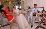 Giới trẻ - Ảnh cưới siêu hài hước của hot girl nhóm BB&BG
