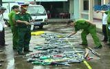 Bạc Liêu: tiêu hủy hơn 80 súng tự chế bắn bằng cồn, đạn bi xe đạp
