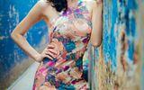 Thời trang & Làm đẹp - Bạn gái diễn viên Thái Chí Hùng quyến rũ đón thu