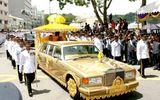 Thế giới Xe - Limousine dát vàng 298 tỷ đồng của quốc vương Brunei