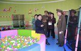 Nhà lãnh đạo Kim Jong-un thăm trại trẻ mồ côi ở Bình Nhưỡng