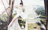 Jessica Minh Anh biến tháp Eiffel thành sàn diễn thời trang