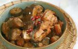 Ẩm thực - Cá kho chuối xanh – món ngon dân giã