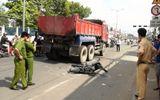 Sự kiện hàng ngày - TP.HCM: Thai phụ bị xe ben cán qua người, kéo lê 3m