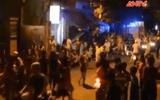 Clip: Nam thanh niên điên cuồng ôm bình gas đốt nhà