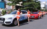 Dàn xe diễu hành trước thềm triển lãm ô tô lớn nhất Việt Nam