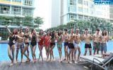 Top 14 Vietnam's Next Top Model 2014 khoe dáng chuẩn tại hồ bơi