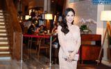 Hoa hậu Thu Hoài diện váy pha lê nghìn đô dự show Hồ Ngọc Hà