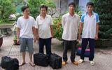 Thanh Hóa: Bắt 4 đối tượng trốn lệnh truy nã về quy án