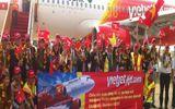 Doanh nghiệp - Máy bay Airbus A320 đầu tiên thuộc sở hữu của Vietjet về đến VN