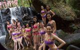 Hoa hậu Việt Nam 2014: 38 thí sinh diện bikini bảo vệ môi trường