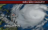 Siêu bão HAGUPIT giật cấp 17 sẽ tiến vào biển Đông?