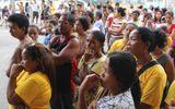 Hơn 616.000 người Philippines đi sơ tán tránh bão Hagupit