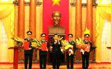 Xã hội - Chủ tịch nước phong hàm Thượng tướng cho 4 cán bộ quân đội