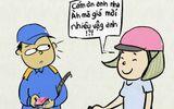 Cộng đồng mạng - Hài hước tranh vui giá xăng giảm kỷ lục hút dân mạng