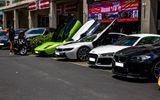 Thế giới Xe - Dàn siêu xe Sài Gòn tụ hội ở Phú Mỹ Hưng
