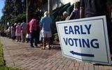 Cử tri Mỹ bắt đầu đi bỏ phiếu sớm
