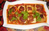 Đậu phụ nhồi thịt sốt cà chua – món ăn gia đình của người Việt