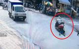 Cô gái bị tên cướp đi xe máy kéo lê trên đường phố TP.HCM
