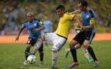 Colombia 2-2 Uruguay: Uruguay mất ngôi đầu