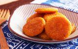 Bánh bí đỏ nóng giòn tan - món tráng miệng cho ngày lạnh