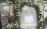 Cặp đôi chi 50 triệu đồngtrang trí nhà ngày cưới bằng hoa lan hồ điệp nhập khẩu