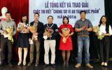"""Báo Hà nội mới trao giải cuộc thi viết """"Chung tay vì an toàn thực phẩm"""""""