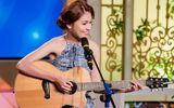 Á hậu Thùy Dung lần đầu khoe tài ca hát, hội hoạ trên truyền hình