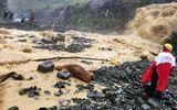 Tuyến đường Nha Trang - Đà Lạt bị tê liệt do sạt lở đất đá