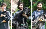 Cảm động chùm ảnh những chú chó và chủ cùng nhau lớn lên