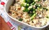 Đậu phụ hấp cá – món ăn cực tốt cho sức khỏe người ăn kiêng