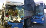 Tai nạn xe giường nằm khiến 9 người bị thương nặng