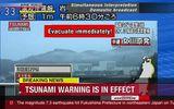 Nhật Bản: Sóng thần ập vào sau động đất 7,3 độ Richter