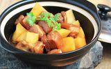 Thịt ba chỉ kho khoai tây đổi vị cho bữa cơm thêm ngon