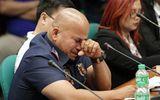 Cảnh sát trưởng Philippines òa khóc khi bị điều trần trước Thượng viện