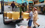 Bắt giữ xe tải chở hơn 1,2 tấn nội tạng không rõ nguồn gốc