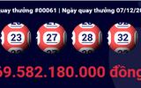 Khách hàng thứ 6 trúng giải Jackpot gần 70 tỷ đồng