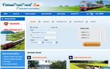 """Xuất hiện nhiều website bán vé tàu Tết Đinh Dậu giả với giá """"trên trời"""""""