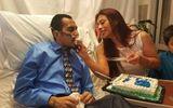 Rơi nước mắt chứng kiến lễ cưới của người đàn ông ung thư trước giờ qua đời