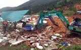 TP Nha Trang: Sạt lở núi vùi lấp 10 ngôi nhà, ít nhất 1 người thiệt mạng