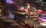 Đức: Tấn công khủng bố vào chợ Giáng sinh, 60 người thương vong