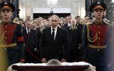 Ông Putin đau buồn tại tang lễ của Đại sứ Nga bị ám sát ở Thổ Nhĩ Kỳ