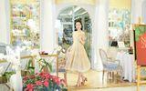 Hoa hậu Huỳnh Thúy Anh một mình cafe ngày cuối tuần