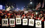 200 nghìn người dân Hàn Quốc đòi Tổng thống từ chức trong đêm Giáng sinh