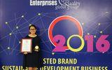 Oriflame Việt Nam nhận Chỉ số tín nhiệm doanh nghiệp 2016 - Trusted Brand Index